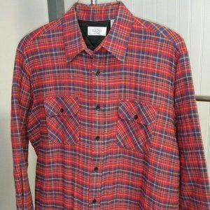 Sears Men's Store Padded Heavy Flannel Shirt